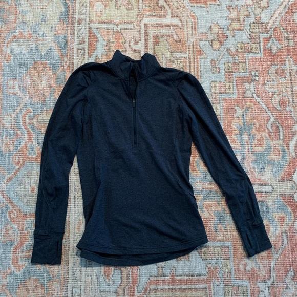 Lululemon Dark Blue Quarter Zip Jacket
